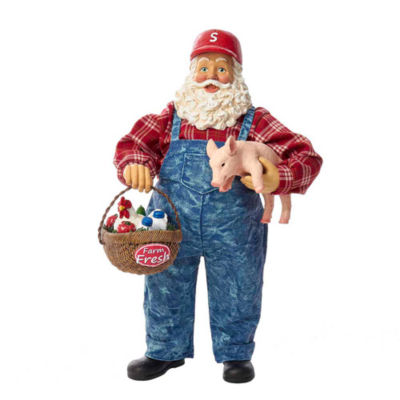 "Kurt Adler 11"" Fabriché™ Farmer Santa"