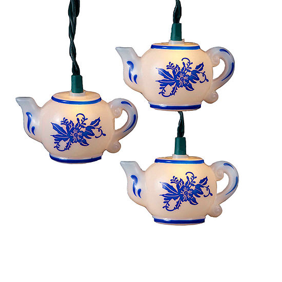 Kurt Adler Teapot Light Set