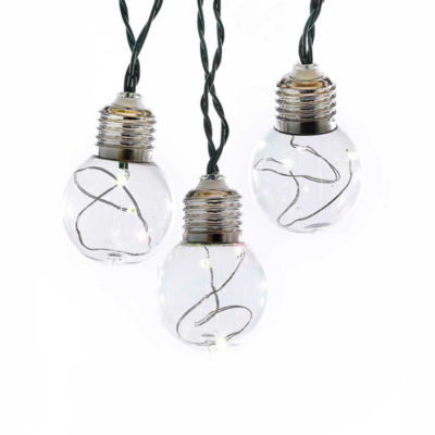 Kurt Adler Battery-Operated Color-Changing LED Ball Fairy Light Set