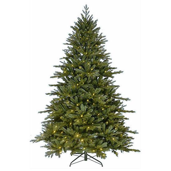 Kurt Adler 7 ft. Pre-Lit LED Green Christmas Tree