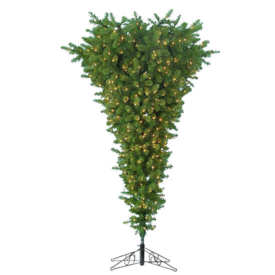 Kurt Adler 7.5 ft. Pre-Lit Upside Down Christmas Tree