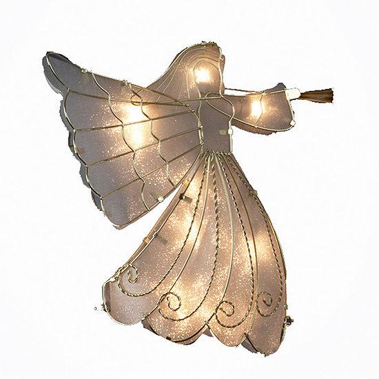 """Kurt Adler 14"""" Angel Lighted Treetopper"""