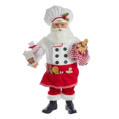 "Kurt Adler 18"" KSA Kringles Bakery Santa"