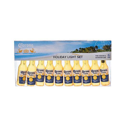 Kurt Adler Corona® Extra Beer Bottle Light Set