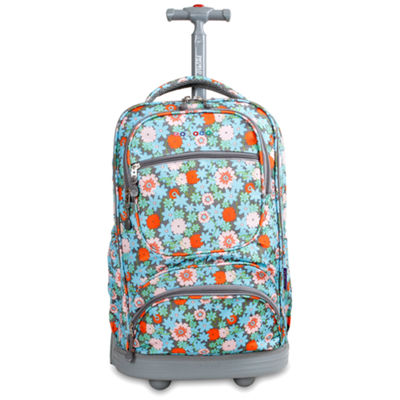 J World Sunburst Wheeled Backpack