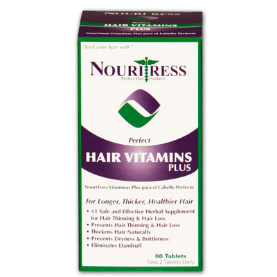 Nouritress Perfect Hair Vitamins Plus 60tabs Hair Treatment