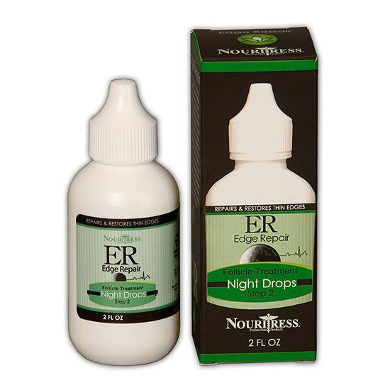 Nouritress Edge Repair Follicle Treatment Night Drops Hair Treatment - 2 oz.