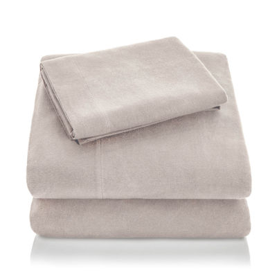 Malouf Woven Portuguese Flannel Sheet Set