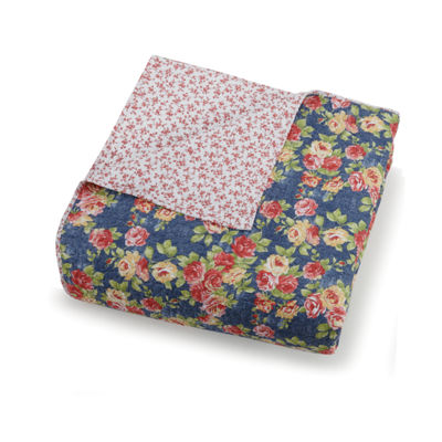 Modern Heirloom Maria 3-pc. Floral Quilt Set