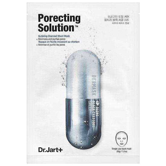 Dr. Jart+ Dermask Ultra Jet Porecting Solution Bubbling Charcoal Sheet Mask