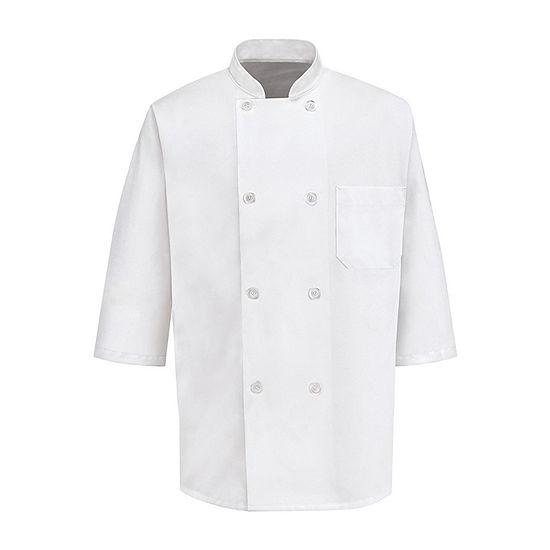 Chef Designs 0404 Unisex Half Sleeve Chef Coat