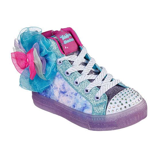 Skechers Shuffle Brights-Bow Little /Big Kid Girls Sneakers