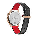 Citizen Mickey Mouse Mens Black Leather Strap Watch-Ap1053-15w