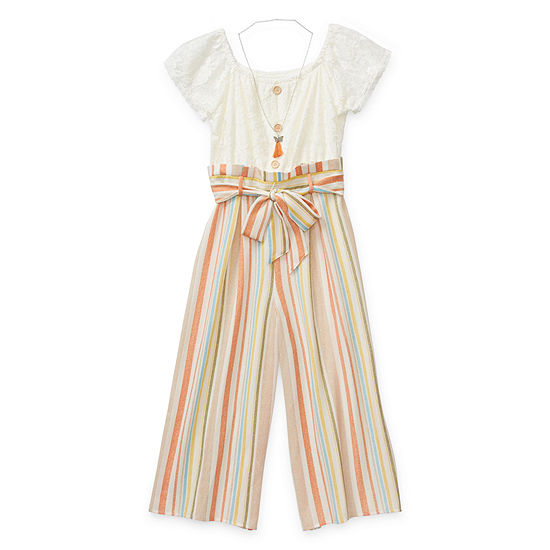 Knit Works Jumpsuits Girls Jumpsuit - Big Kid