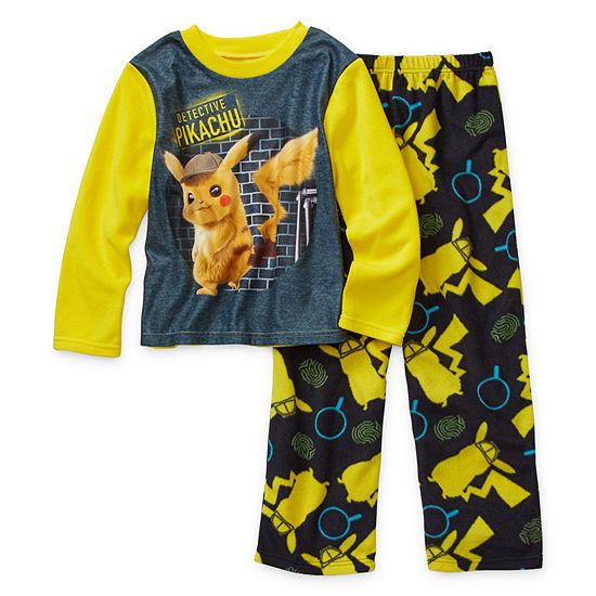 Boys 2-pc. Pokemon Pajama Set Preschool / Big Kid