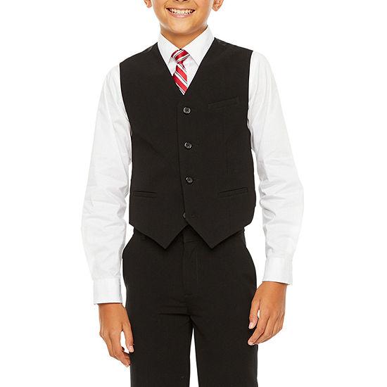 Van Heusen Flex Suit Vest - Boys 8-20 Regular