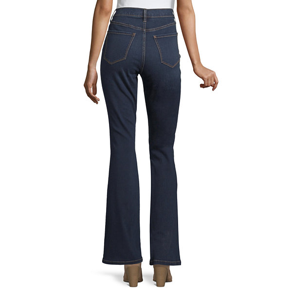 a.n.a Womens High Waisted Modern Fit Flare Jean