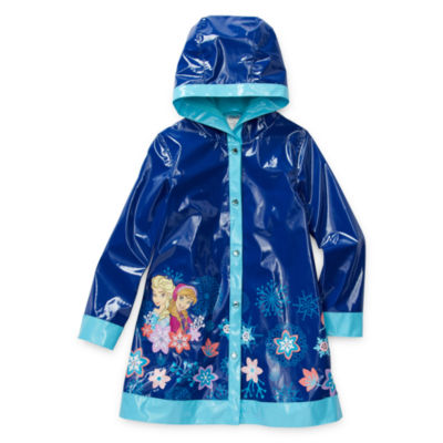 Disney Collection Little & Big Girls Frozen Water Resistant Midweight Raincoat
