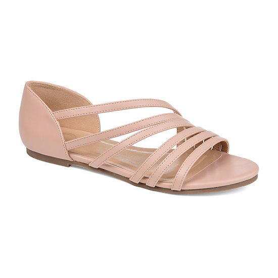 Journee Collection Womens Divina Strap Sandals