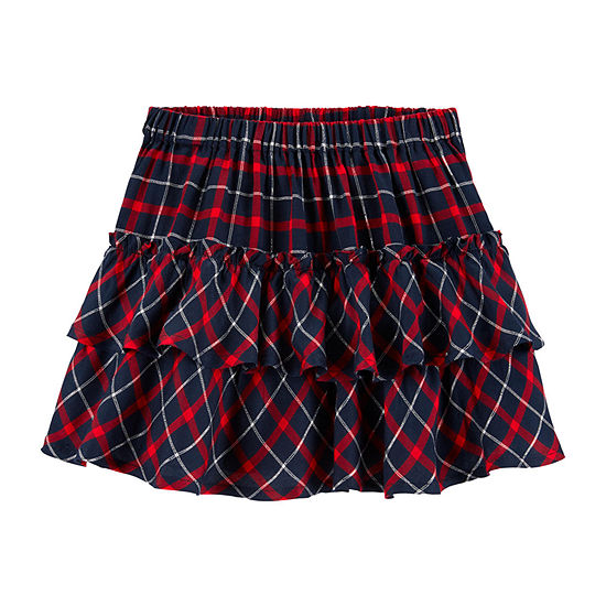 Oshkosh Girls Short Flared Skirt - Toddler