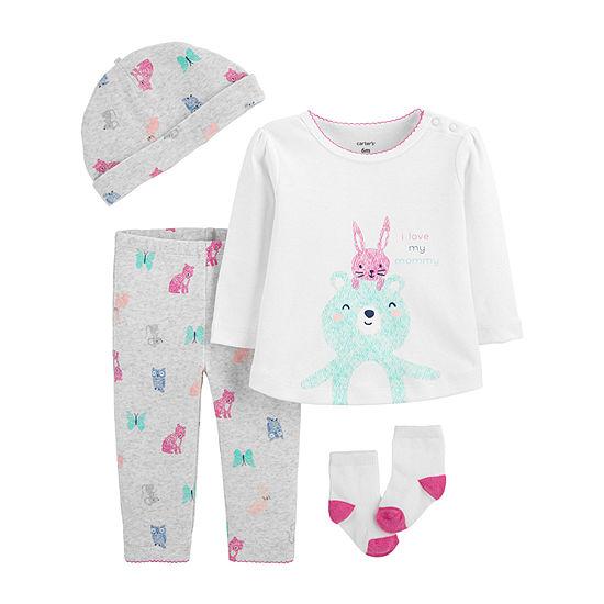 Carter's Girls 4-pc. Baby Clothing Set-Baby