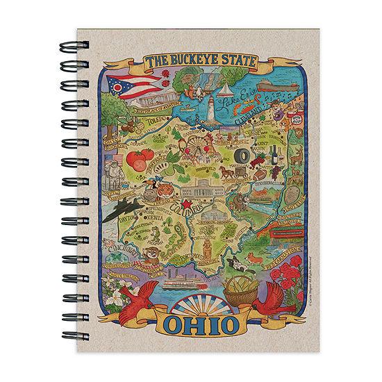 Tf Publishing Ohio State Map Journal