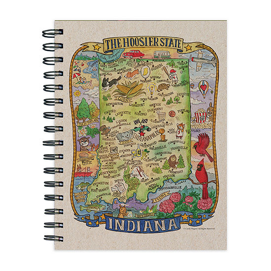 Tf Publishing Indiana State Map Journal