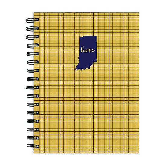 Tf Publishing Indiana Golden Plaid Journal
