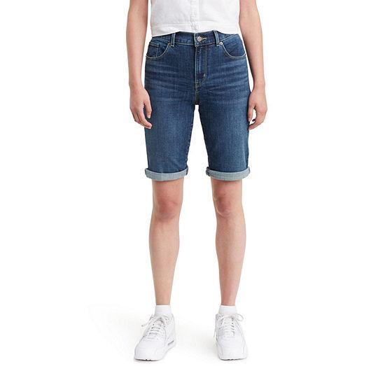 """Levi's® Mid Rise Stretch 10 1/2"""" Bermuda Short"""