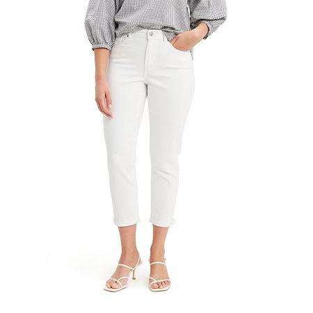 Levi's Classic Cropped Jean, 8 , White