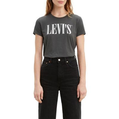 Levi's Perfect Tee-Womens Crew Neck Short Sleeve T-Shirt