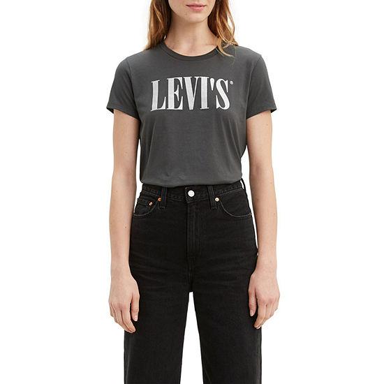 Levi's Perfect Tee Womens Crew Neck Short Sleeve T-Shirt