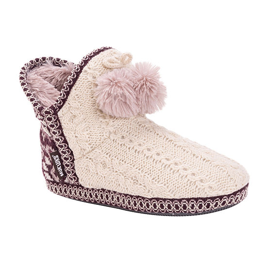 Muk Luks Amira Womens Slip-On Slippers