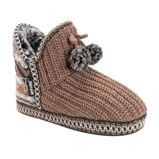 Muk Luks Amira Womens Slip-On Slippers