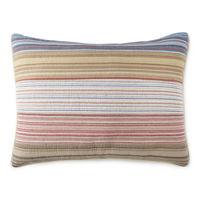 Hudson & Main Casen Pillow Sham, One Size , Red