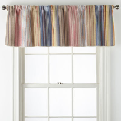 Hudson & Main Casen Rod-Pocket Tailored Valance