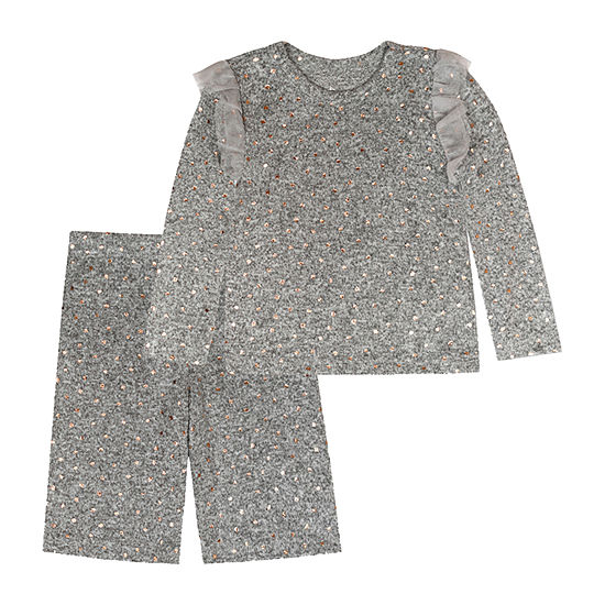 Young Hearts Toddler Girls 2-pc. Pajama Set