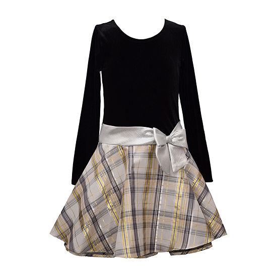 Bonnie Jean Big Girls Long Sleeve Party Dress