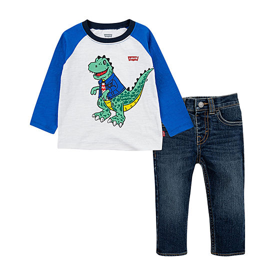 Levi's Toddler Boys 2-pc. Pant Set
