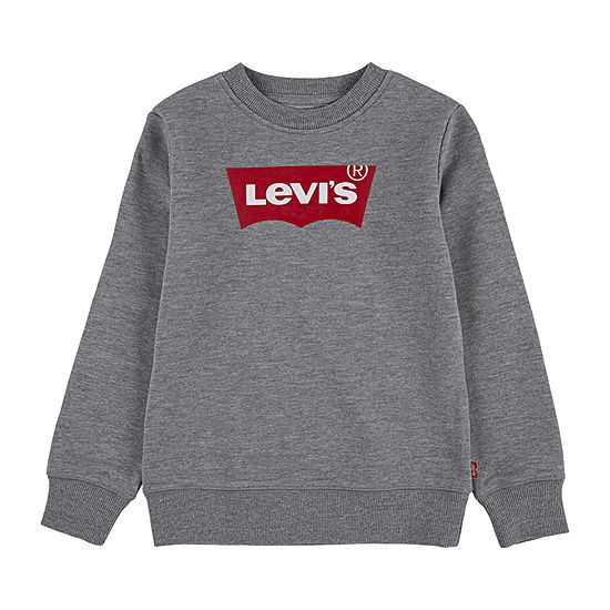 Levi's Toddler Boys Crew Neck Long Sleeve T-Shirt