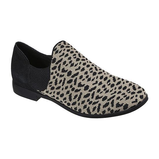 Skechers Womens Cleo Prep Chic Cheetah Slip-On Shoe