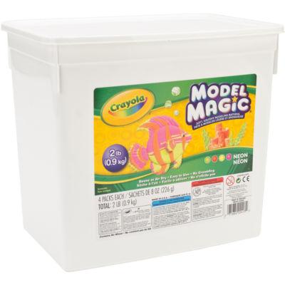 Crayola® Model Magic 2 Pound Neon Tub