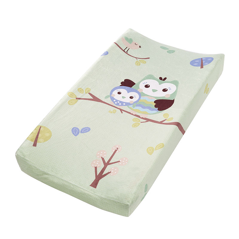 Summer Infant Who Loves You Owl Plush Pals Changing Pad Cover