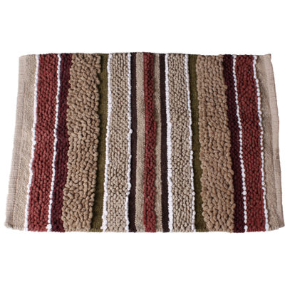 Madison Stripe Bath Rug