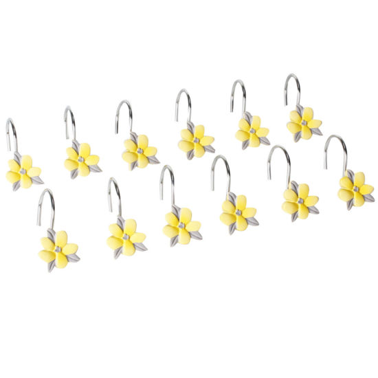 Spring Garden Shower Curtain Hooks