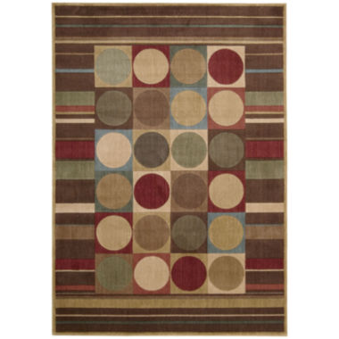 Nourison® Checkers Rectangular Rug