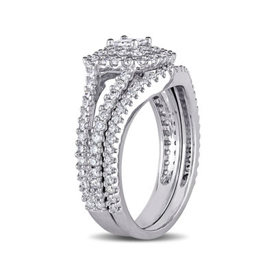 1 1/5 CT. T.W. Diamond 14K White Gold Ring Set