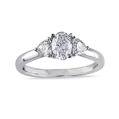 1 CT. T.W. Diamond 14K White Gold Ring