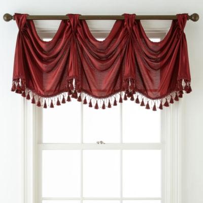 Royal Velvet Hilton Rod-Pocket Empire Valance