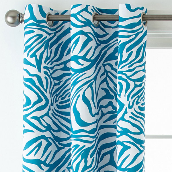 Home Expressions™ Sebastian Blackout Grommet-Top Curtain Panel